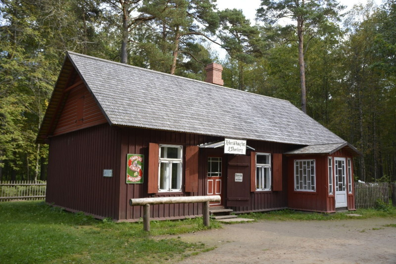 Dorfladen Lau im estnischen Freiluftmuseum