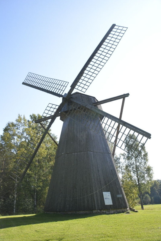 Windmühle Kalma aus dem Jahr 1897 im Freiluftmuseum tallinn