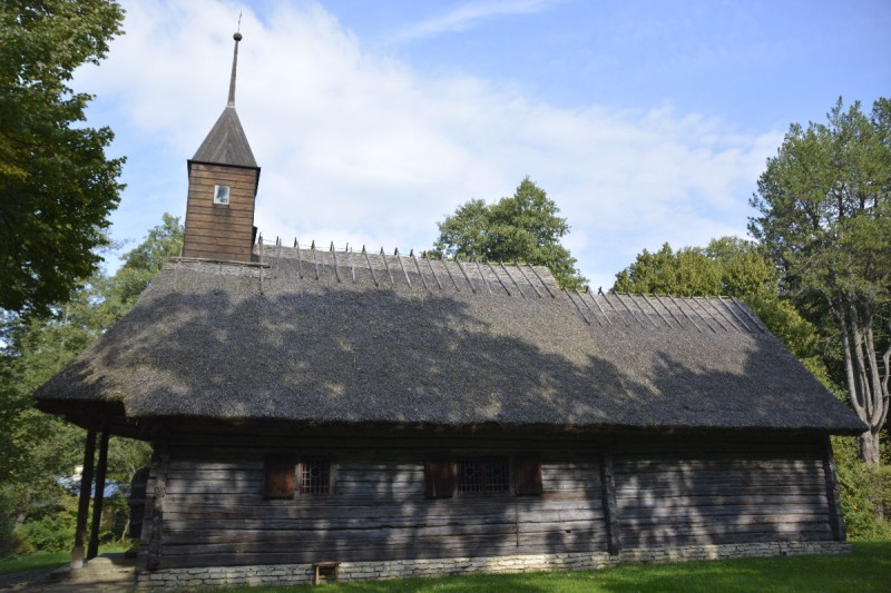 Kapelle Sutlepa aus Westestland im Freiluftmuseum Tallinn