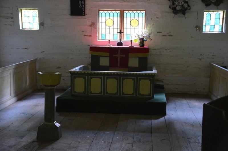Altar in der Kapelle Sutlepa aus Westestland