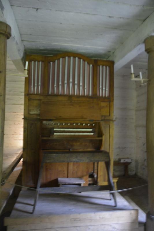 Orgel in der Kapelle Sutlepa aus Westestland