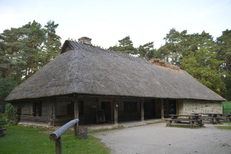 Kneipe Kolu aus den 1840er Jahren in Nordestland im Freiluftmuseum Tallinn