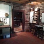 Küche (und Bad?) im Schulhaus im Freiluftmuseum Tallins