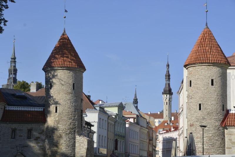 Türme über Türme in Tallinn