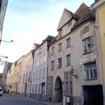 Ok, nicht jedes einzelne Haus ist schön in Tallinn in der Pikk, aber fast...