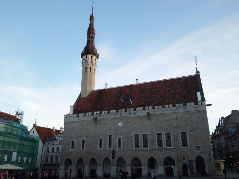 Das Rathaus von Tallinn