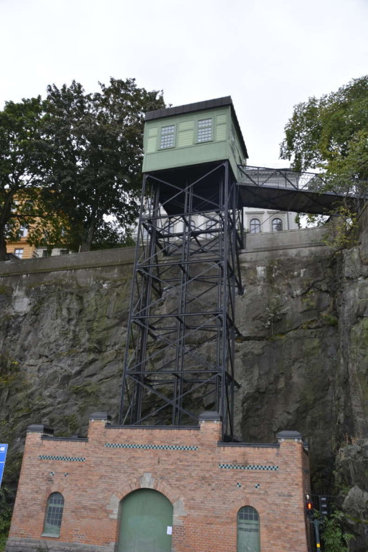 Ältester Aufzug Stockholms