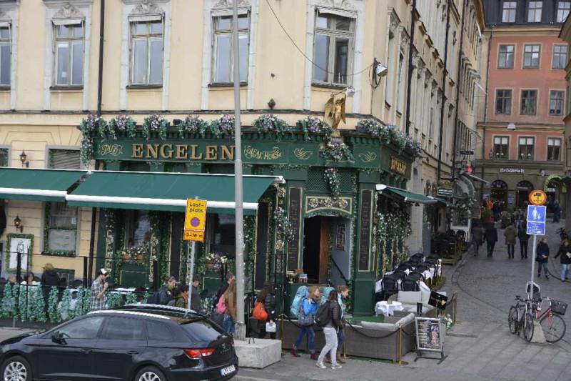 Pub / Steakhouse Engelen in tockholm auf Gamla Stan