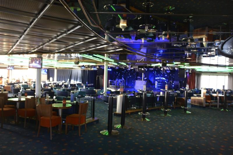 Der Nachtclub, bevor es Nacht wird an Bord der M/S Isabelle ;)