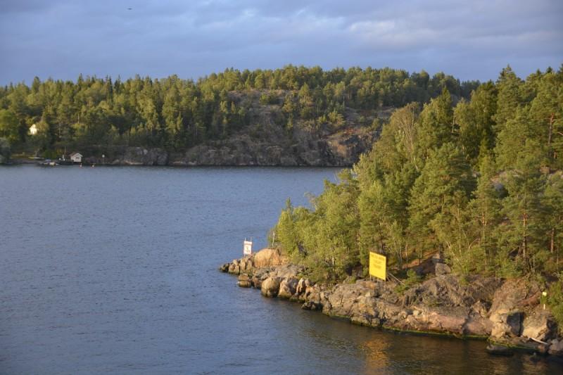 Schwedische Landschaft im Abendlicht, das ist einfach traumhaft