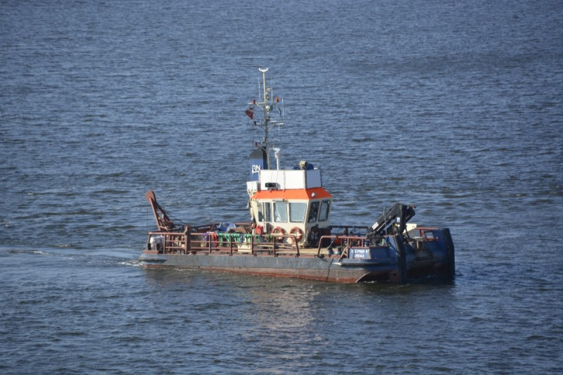 Und noch ein Schiff, das unseren Weg kreuzt auf dem Weg von Stockholm nach Riga mit der M/S Isabelle