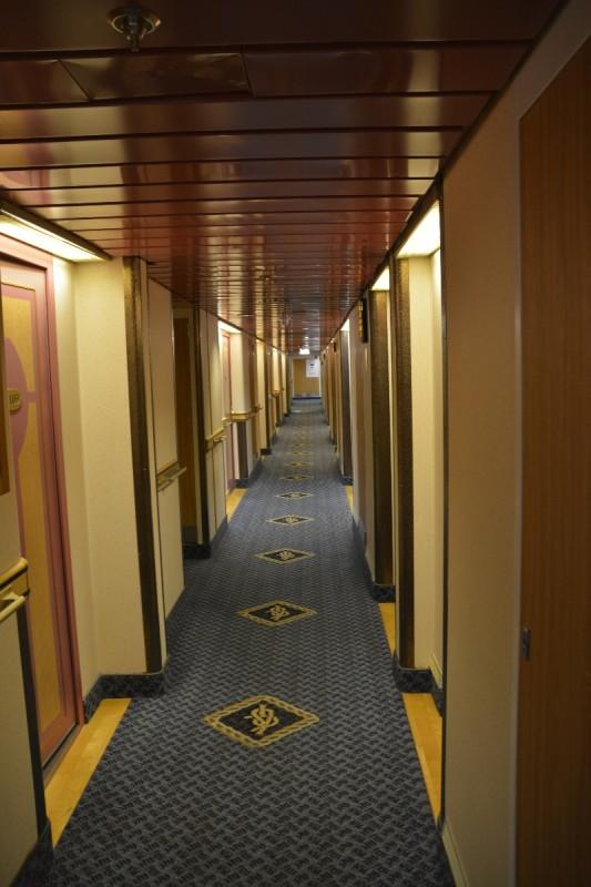 Gang auf Deck 6 der M/S Isabelle