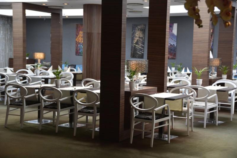 Der Frühstücksraum im Tallink Hotel Riga