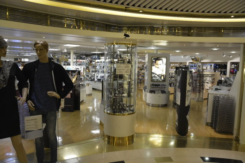 Shoppingmall an Bord der M/S Romantika