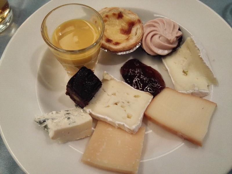 Mein Dessert im Buffet Tallink