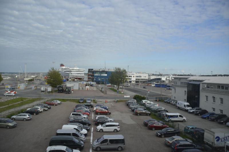 Blick aus dem Zimmerfenster des Tallink Spa & Conference Hotel Tallinn