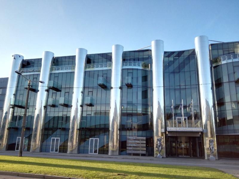 Das Tallink Spa & Conference Hotel von der anderen Strassenseite aus