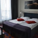 Gemütliches Bett im Tallink Spa & Conference Hotel Tallinn