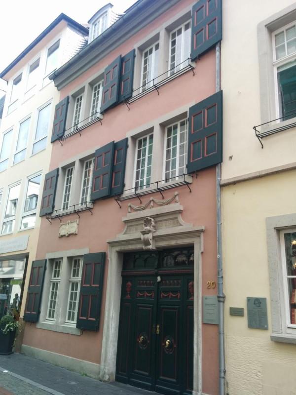Angeblich Beethovens Geburtshaus in Bonn