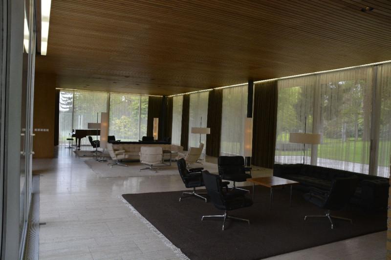 Empfangsbereich im Kanzlerbungalow Bonn