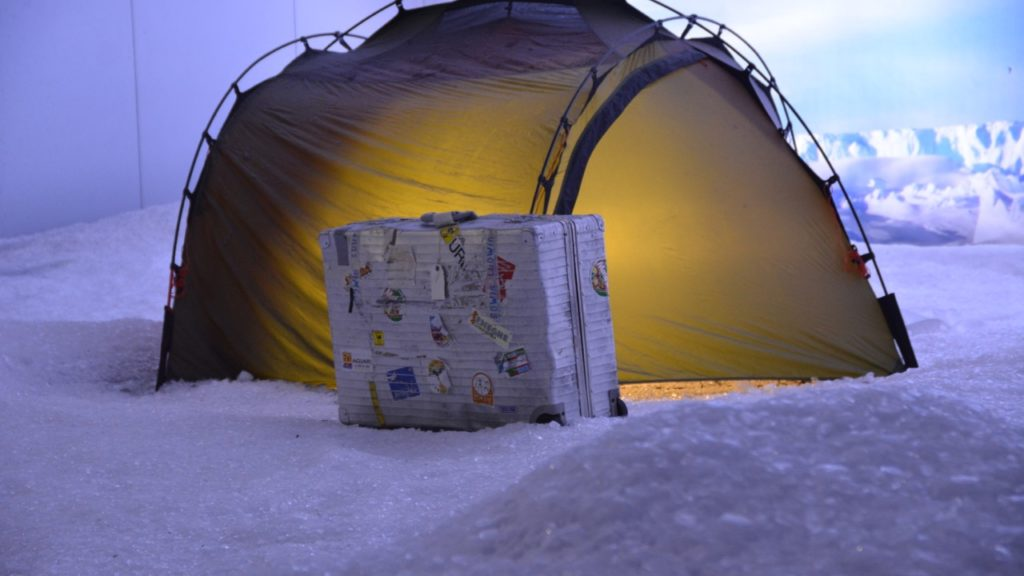 Minusgrade in der Antarktis