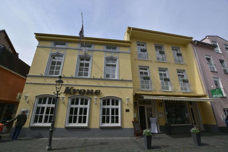 Hotel Krone Königswinter von außen