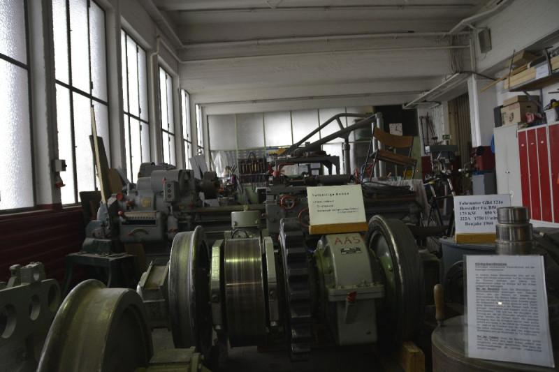 Blick in die Ausstellung in der Talstation der Drachenfelsbahn Königswinter