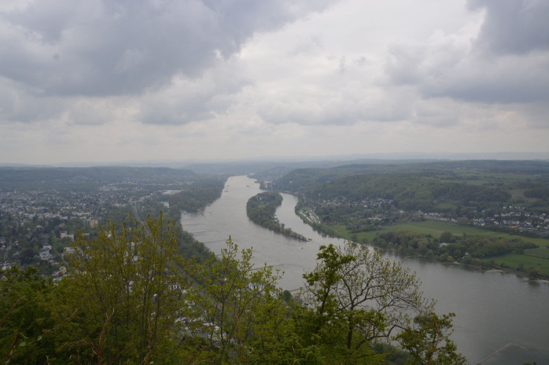 Ausblick auf den Rhein