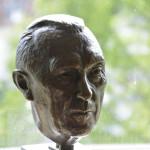 Büste von Adenauer im Adenauerhaus