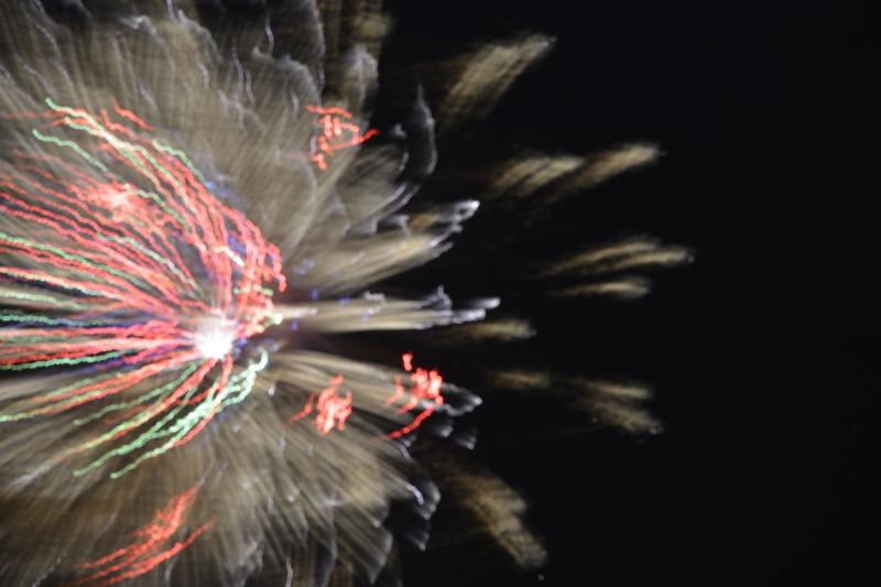 Missratenes Feuerwerksbild 1 bei Rhein in Flammen Bonn