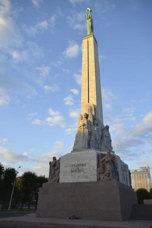 Das Freiheitsdenkmal Riga