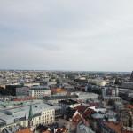 Ausblick von der St. Petrikirche über Riga