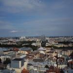 Ausblick von der St. Petrikirche über Riga in Richtung der Geburtskathedrale