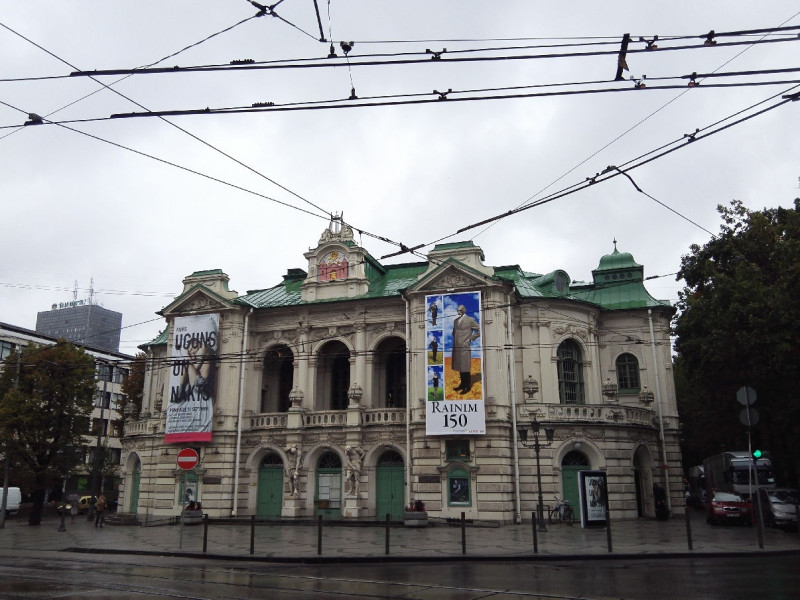 Lettisches Nationaltheater in Riga