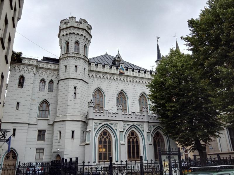 Mazā ģilde (die kleine GIlde) inmitten Rigas