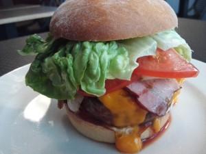 BBQ Burger im Burger Corner Riga