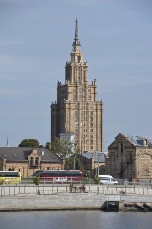 Hochhaus der Wissenschaften in Riga