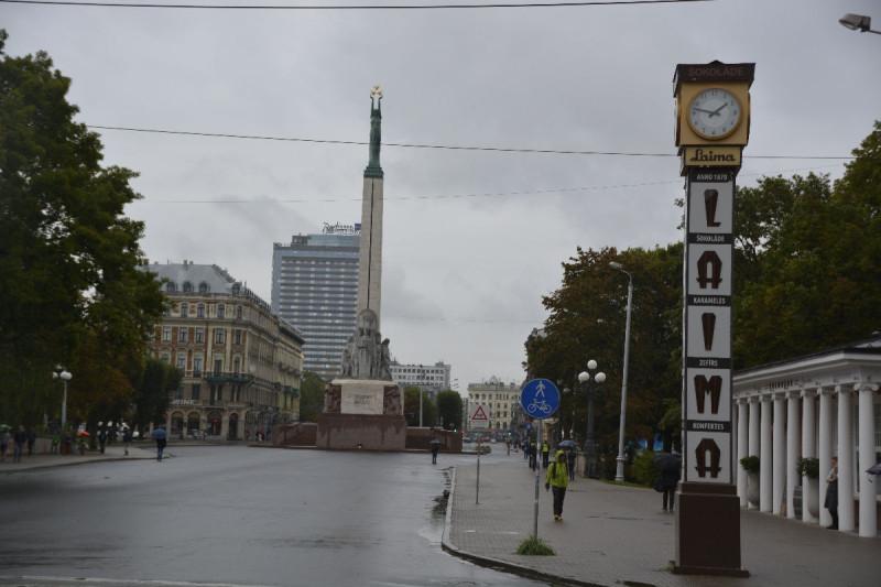 Die Laima Uhr in Riga