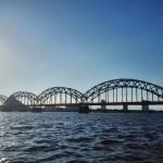 Daugava-Eisenbahnbrücke