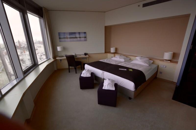 Die größte Suite im Atlantic Hotel Sail City