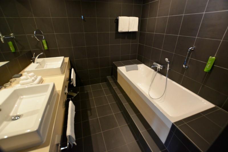 Das Bad der Suite