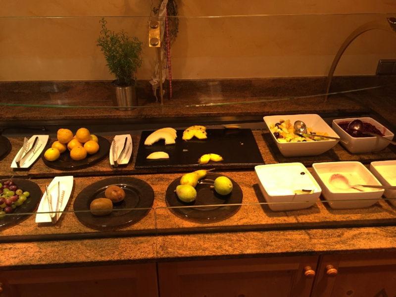 Du magst lieber Obst? Auch das gibt es hier natürlich im Hotel Schlosskrone Füssen