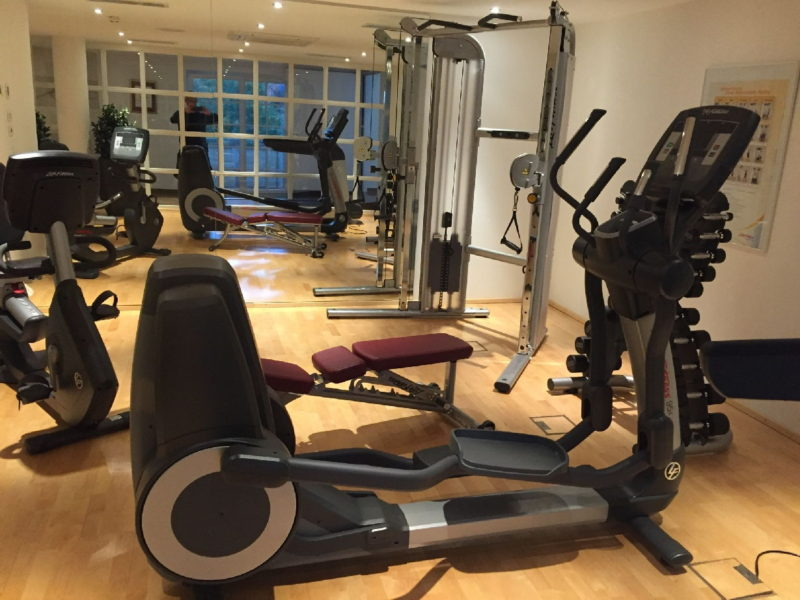 Fitnessraum im Hotel Schlosskrone Füssen