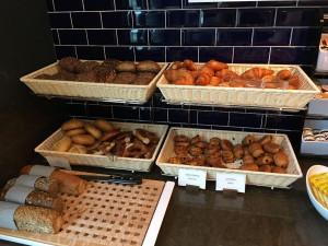 Es gibt auch mehrere Sorten Brot, eine Besonderheit extra für den deutschen Markt