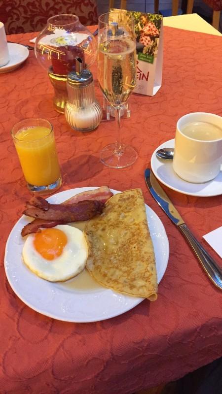 Frühstück im Hotel Schlosskrone Füssen