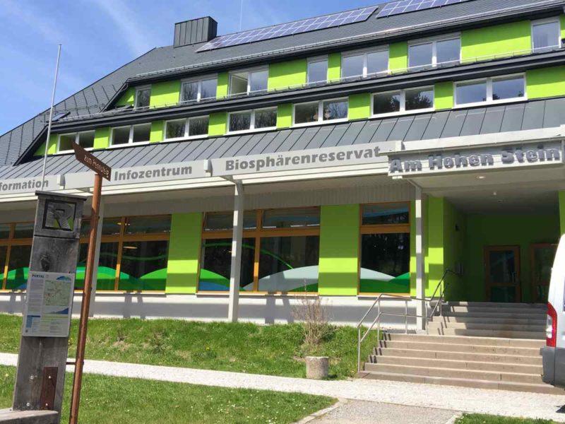 Das Informationszentrum Biosphärenreservat Vessertal-Thüringer Wald in Schmiedefeld