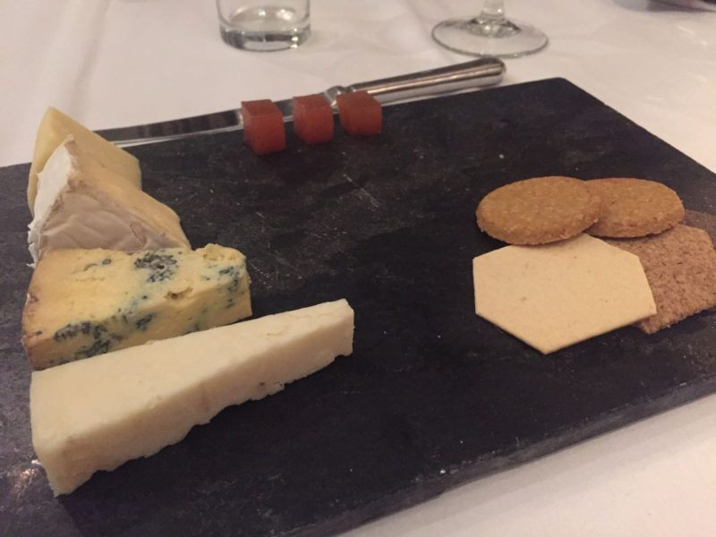 Lokale Käse auf der Käseplatte