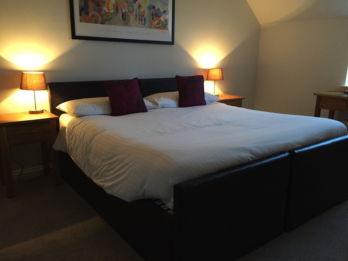 Mein Bett im Morton of Pitmilly Farm House