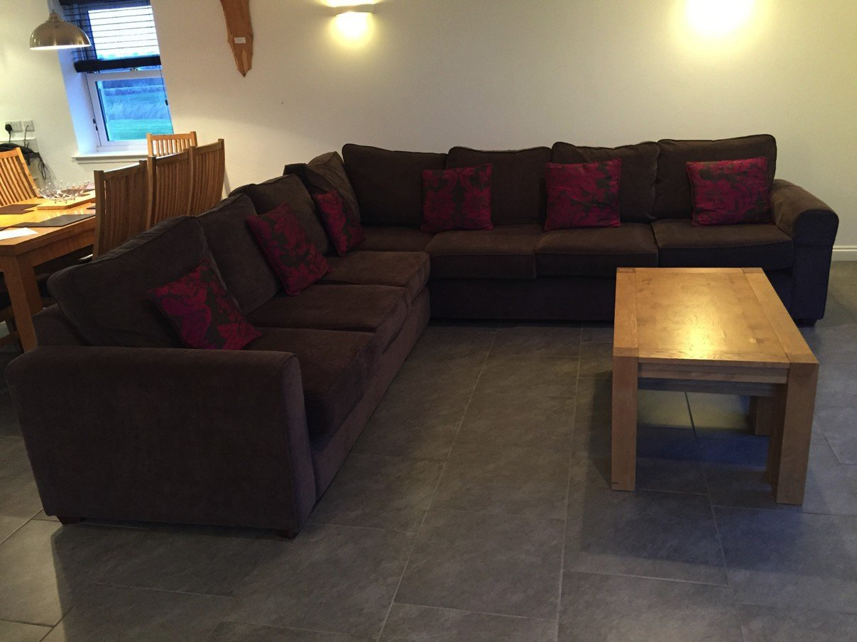 Couchlandschaft im Meadowside House im Morton of Pitmilly Farm House