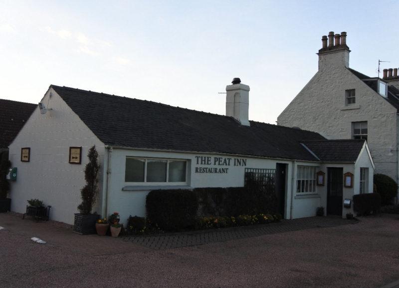 The Peat Inn Restaurant von außen